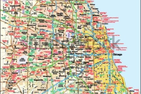 map of chicago area » Full HD MAPS Locations - Another World ...
