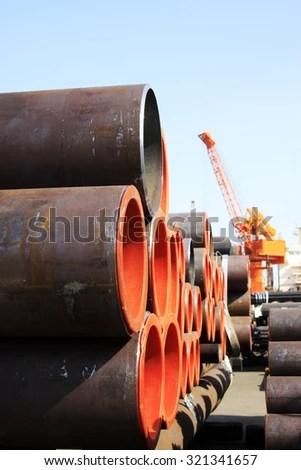 Pipeline Bridge Stock Photo 117314188 Shutterstock