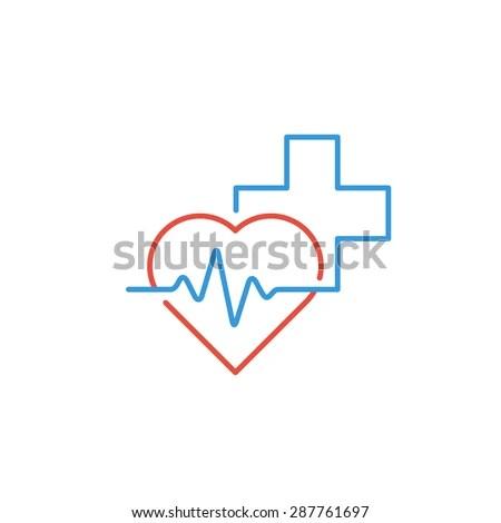 Medical Logo Pharmacy Drugstore Health Care Stock Vector ...