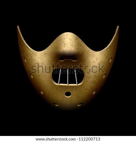 Hannibal Halloween mask. Vector. - stock vector