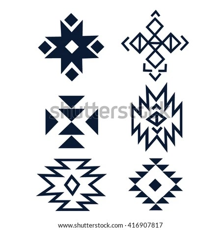 Hand Drawn Set Collection Geometric Elements Stock Vector 471347279 Shutterstock