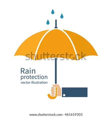 Happy Monsoon Umbrella Background Rainy Season Stock ...