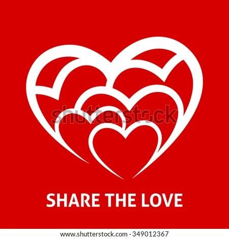 Download Share Love Concept Peace Unity Design Stock Vector ...