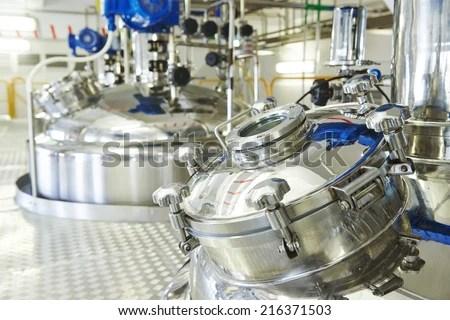 Automated Mechanized Milking Equipment Closeup Farmland