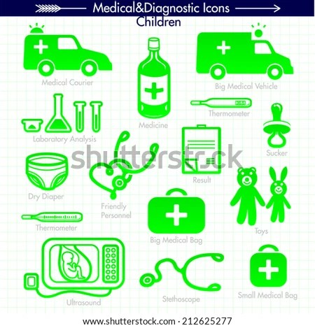 Child Care Pregnancy Medical Doctor Silhouettes Stock ...