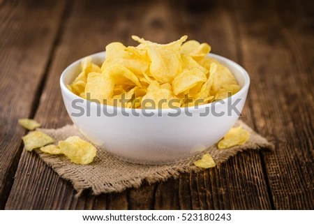 Portion Salt Sticks As Detailed Closeup Stock Photo ...