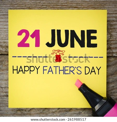 Stock Images similar to ID 288161741 - happy fathers day ...