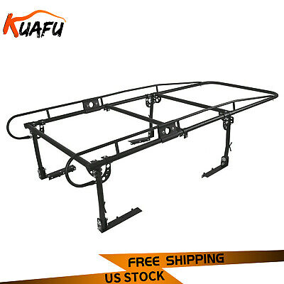 parts accessories bully black steel expandable ladder rack 18 32 width fits full mid size truck bostwickcourt