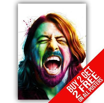 a4 a3 a2 a1 a0 dave grohl foo fighters on drums cc1 poster art print antiquitaten kunst takeawaytv kunst