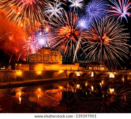 Rome New Year Italy Stock Photo  Edit Now  539397901   Shutterstock Rome new year  Italy