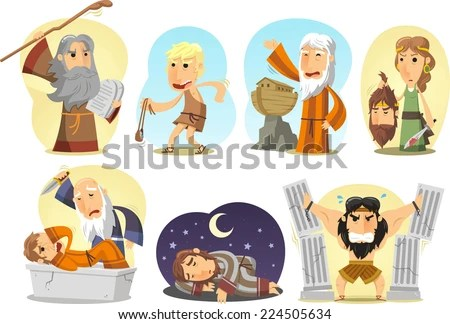 Image result for characters in the torah