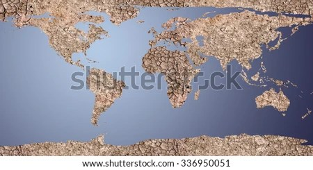 Dry Earth Displayed 2 D Map Map Stock Illustration 336950051     dry earth displayed as a 2d map  For map used open source http