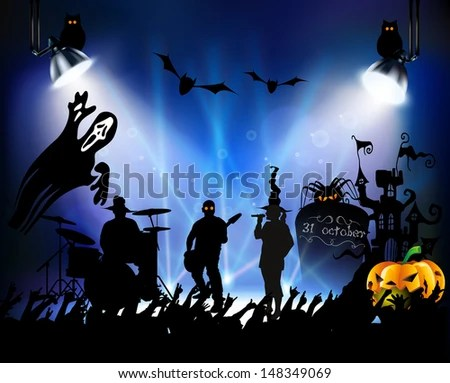 Halloween Music Stock Images, Royalty-Free Images ...