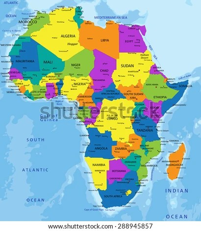 africa political map      Full HD MAPS Locations   Another World         In high resolution detailed political map of Africa with the marks of  capital cities and names South Africa Political Map Political Map of South  Africa