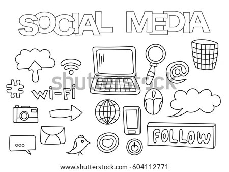 Doodle Icons Stock Images Royalty Free Images Amp Vectors