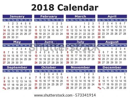 2018 calendar hong kong