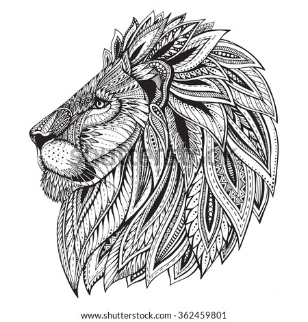 lion head stock images royalty free images vectors shutterstock