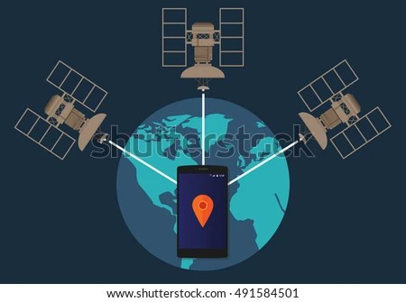 Gps Satellite Stock Images, Royalty-Free Images & Vectors ...