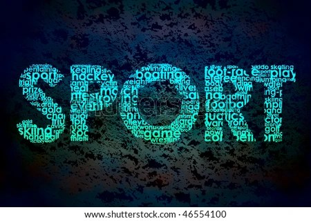 Word Sport Made Other Words Stock Illustration 46554100 ...