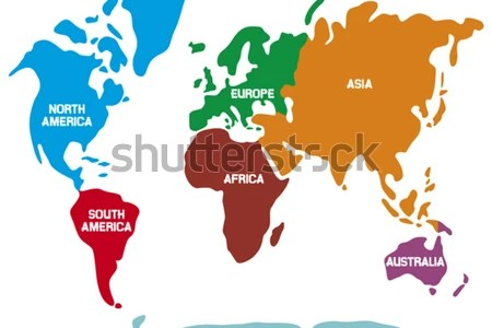 Map continents path decorations pictures full path decoration funny cartoon world map with traditional animals of all the download funny cartoon world map with traditional animals of all the continents and oceans gumiabroncs