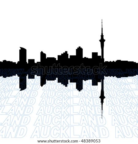 Auckland Skyline Stock Images Royalty Free Images