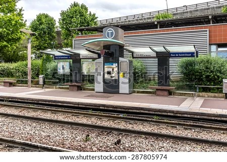 PARIS FRANCE JUNE 3 2015 Tramway Stock Photo  Royalty Free     PARIS FRANCE JUNE 3 2015 Tramway Stock Photo  Royalty Free  287805974    Shutterstock
