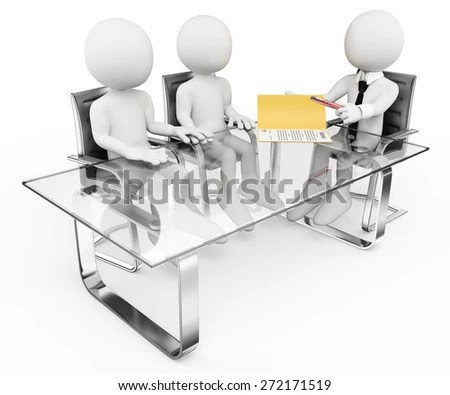 3d Man Hard Working His Desk Stock Illustration 95742775 ...