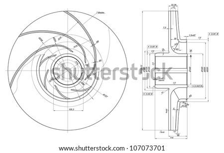 Diagram Structure Human Brain Schematic Vector Illustration Stock