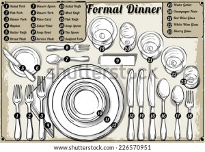 Table Etiquette Stock Photos, Images, & Pictures | Shutterstock