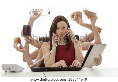 Multitasking Stock Photos, Royalty-Free Images & Vectors ...