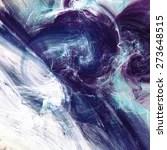Blue Swirl. Artistic Texture...