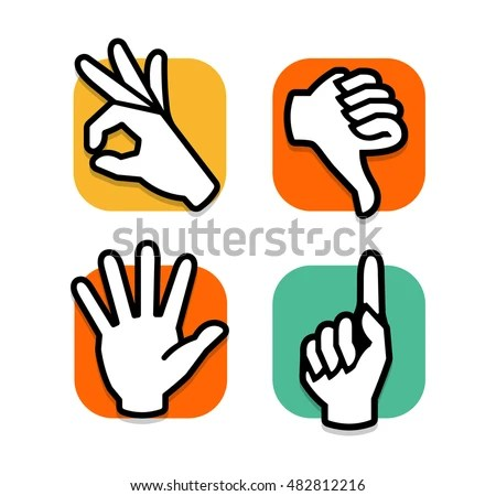 Three Fingers Stock Photos, Royalty-Free Images & Vectors ...