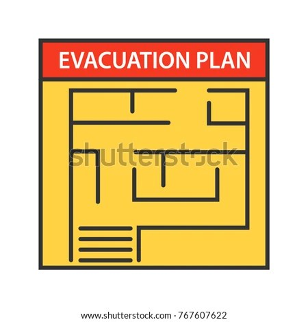 Fire Escape Plan Stock Images Royalty Free Images