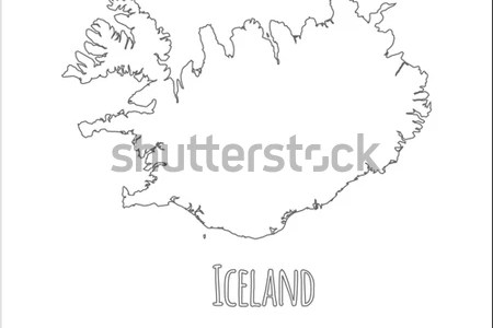 iceland blank outline map » Full HD MAPS Locations - Another World ...