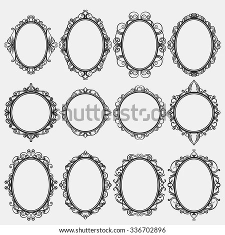 Round Vintage Frame Stock Images Royalty Free Images