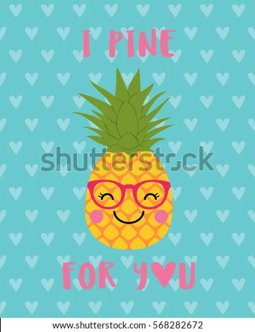 Cute Lemon Drink Straw Fresh Lemonade Stock Vector