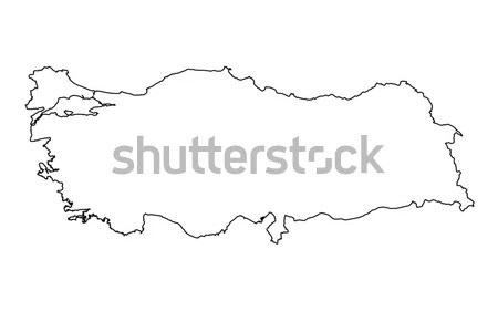 turkey country map outline » Full HD MAPS Locations - Another World ...