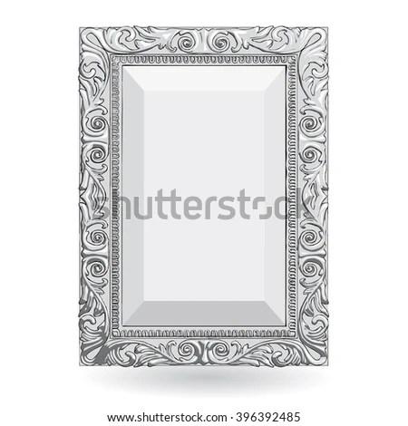 Vintage Style Silver Photo Frames Amtframe