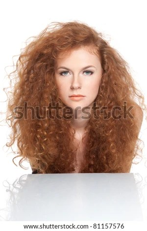 curly red hair stock images royalty free images vectors shutterstock