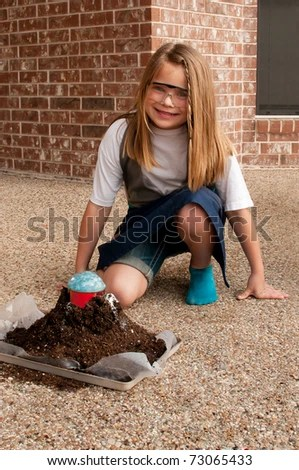 Science Project Volcano Stock Images, Royalty-Free Images ...