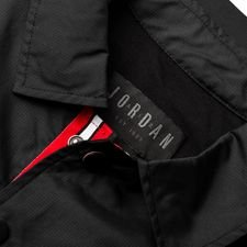 nike jacket coach jordan x psg black white limited edition
