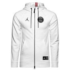 nike hoodie fz jordan x psg white limited edition