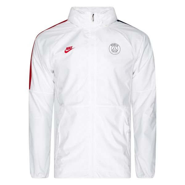 paris saint germain lightweight training jacket white midnight navy university red