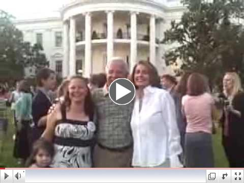 Nick Rahall Gets The Pelosi Endorsement at the White House