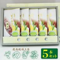 【ふるさと納税】BAL004 【そのぎ茶】長崎そのぎ茶極上1