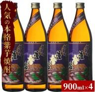 【ふるさと納税】紫薩摩富士 900 焼酎 セット 濱田酒造