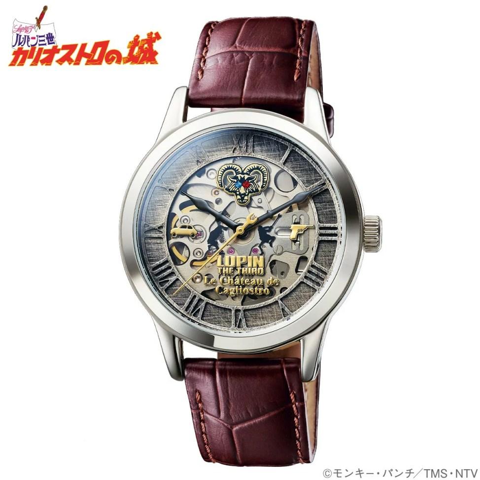 ルパン三世 カリオストロの城 機械式腕時計 限定1979点 iei-50728【ギフト】