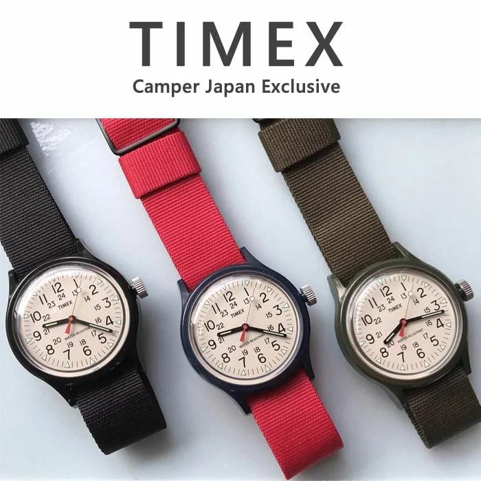 タイメックス TIMEX 腕時計 TW2R77900 TW2R78100 TW2R77800 TW2R78000 キャンパー camper 12月販売 日本限...