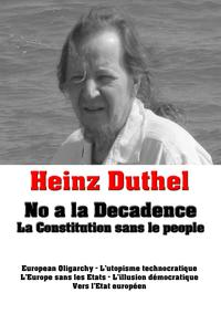 Heinz Duthel: No a la Decadence.La Constitution sans le people.-【電子書籍】
