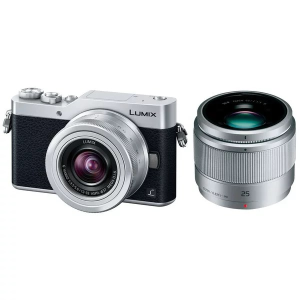 【送料無料】PANASONIC DC-GF9W-S シルバー LUMIX [ミラーレス一眼カメラ ダ